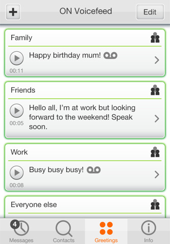 On voicefeed personalized voicemail messages for iphone m4hsunfo