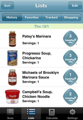 Weight Watchers Barcode Scanner :: iPhone Apps Finder
