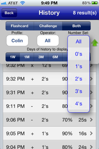Math Fact Master :: iPhone Apps Finder