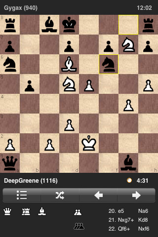 play chess online against friends on iphone 5 apps iphone apps finder. Black Bedroom Furniture Sets. Home Design Ideas