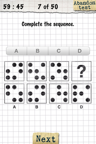 IQ-Test for iPhone :: iPhone Apps Finder