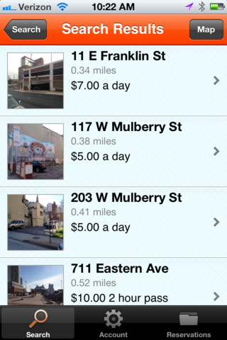 Parking Panda for iPhone :: iPhone Apps Finder
