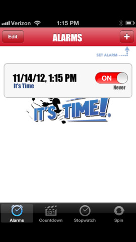 Bruce Buffer It's Time :: iPhone Apps Finder