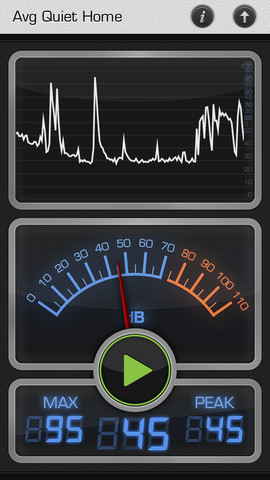 iphone decibel meter decibel 10th iphone apps finder 11790