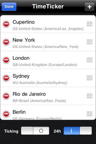 6 quality world clock apps for iphone iphone apps finder the times and locations are displayed on a map the app is synchronized with an atomic time server gumiabroncs Choice Image