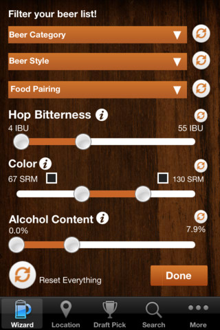 beer wizard app