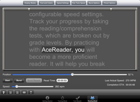 AceReader for iPhone :: iPhone Apps Finder