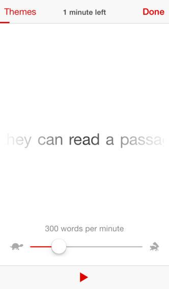 veolicty reader app