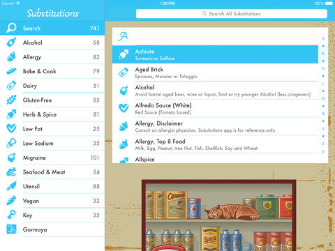 substtitions app