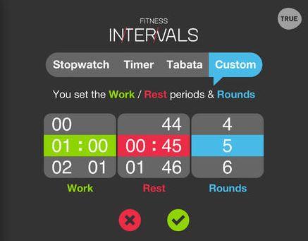 fitness intervals