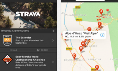 Strava GPS Run & Ride Tracker :: iPhone Apps Finder