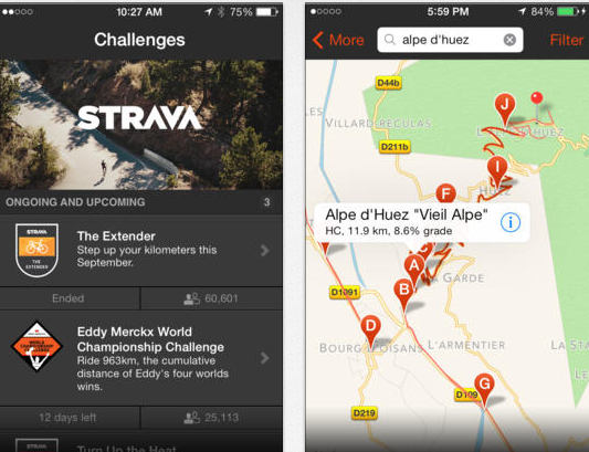 Strava GPS Run & Ride Tracker :: iPhone Apps Finder