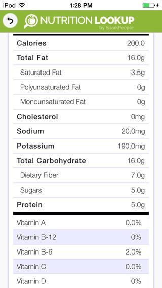 nutritionlookup