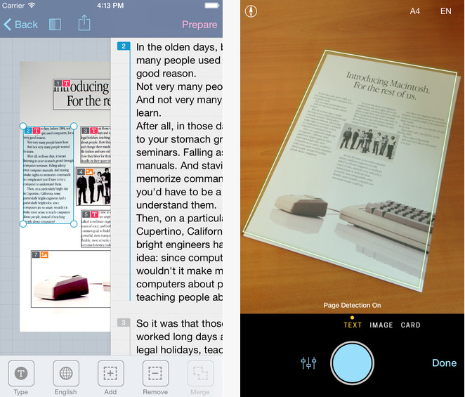 prizmo 4 scanner for iphone iphone apps finder