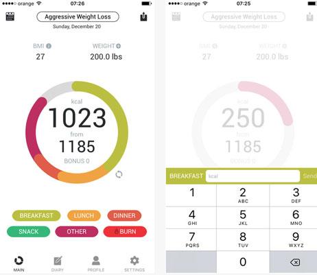 Evolve-Diet-App