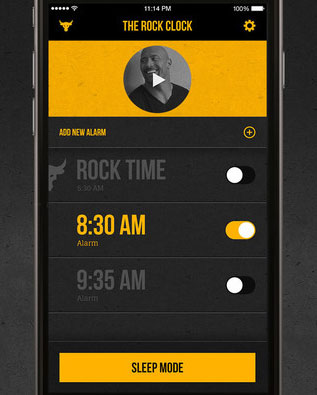The-Rock-Clock