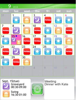 Shift-Planning-Calendar
