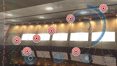 Iron HUD Augmented Reality Iron Man Game :: iPhone Apps Finder