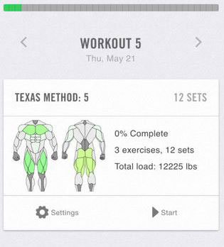 iron pro advanced strength tracker for iphone iphone apps finder