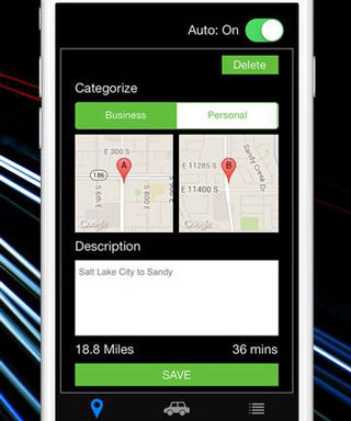 TrackMyDrive for iPhone: Mileage Tracker & Logger :: iPhone Apps Finder
