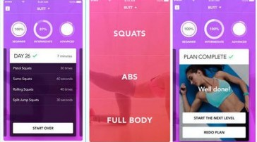 30 Day Squat And Ab Challenge iPhone App :: iPhone Apps Finder