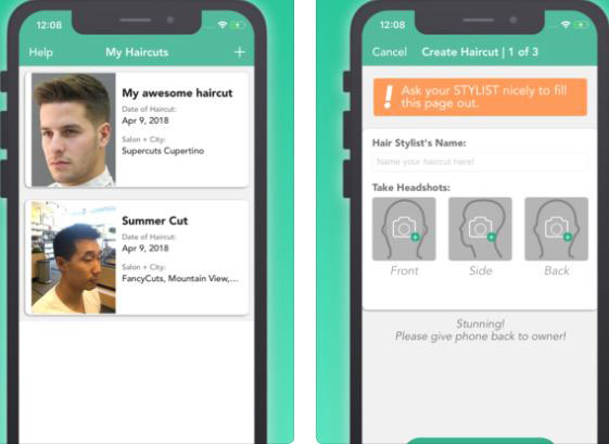 Freshcut For Iphone Lets You Save Your Haircuts Iphone Apps Finder