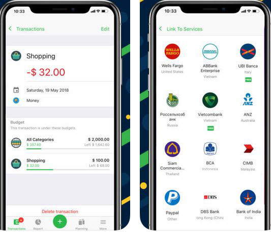 money lover expense tracker for ios iphone apps finder