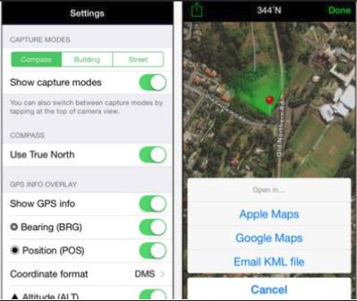 GPS dating iPhone app