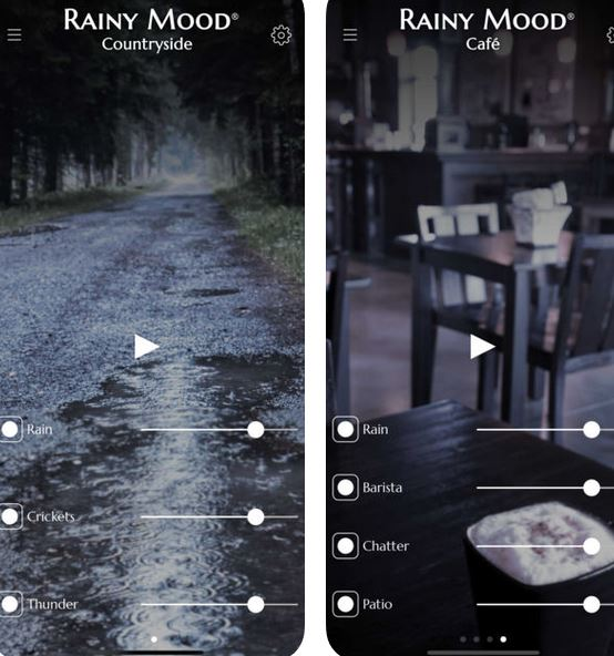 Rainy Mood for iPhone :: iPhone Apps Finder