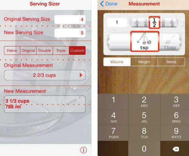 Serving Sizer Is A Recipe Converter You Can Use On Your Smartphone To Scale Recipes Like Pro Simply Enter The Number Of Items And Does Rest