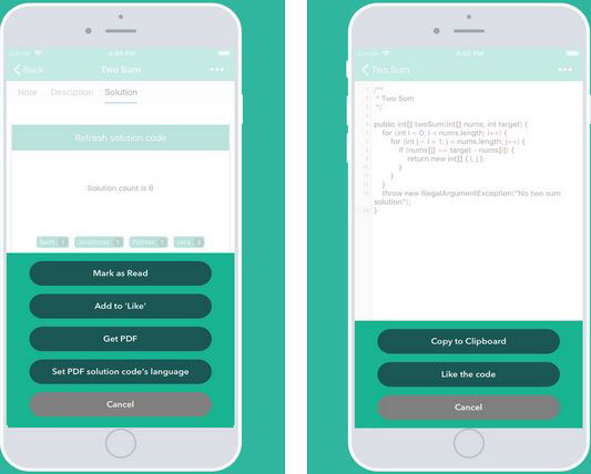 Leetcodes Tech Interview App for iPhone :: iPhone Apps Finder