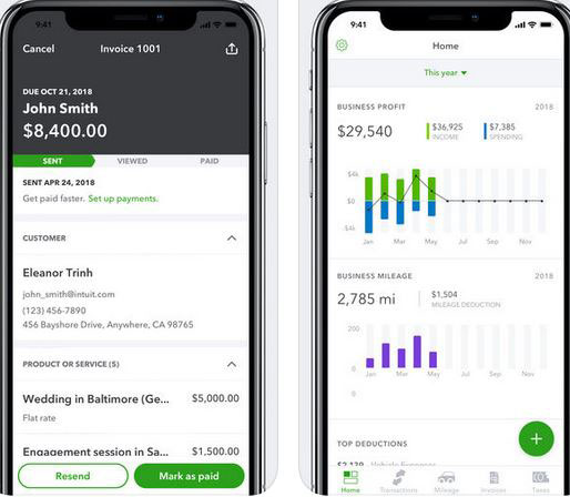Quickbooks Self Employed For Iphone Iphone Apps Finder