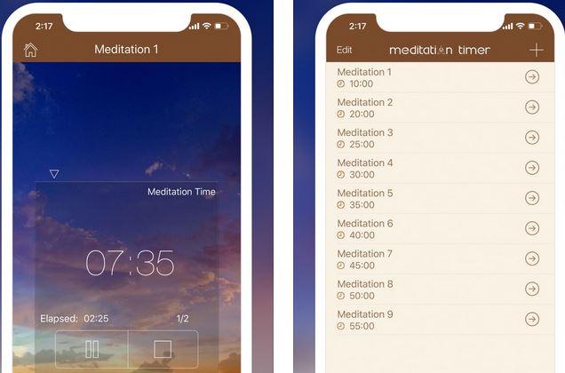 Meditation Timer Pro for iPhone :: iPhone Apps Finder