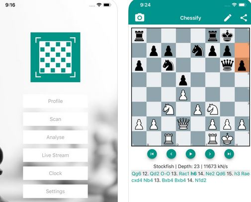 Chessify: Chess Scanner & Live Tournament App for iPhone